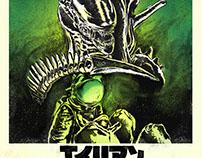 Alien Movie Poster / Japanese Variant