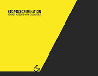 POSTER - Stop Discrimination
