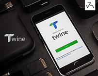 Twine App UI/UX - Jensonart
