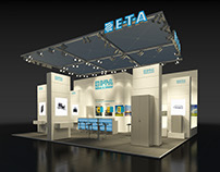 ETA Booth Visualization for BBCO MesseManufaktur GmbH