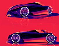 VR Sketching for Car Design