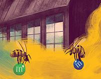 Bee addicted: M&M Honey