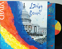 Living Colour(VIVID) vinyl record album cover