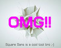 Huntkey Square Sans Font Family