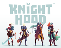 Video game character design // KnightHood by Midoki