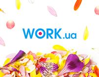 Work.ua к 8 Марта