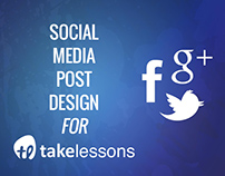 Social Media Post Design for TakeLessons
