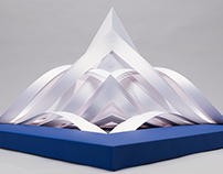Iceberg - Paper sculpture