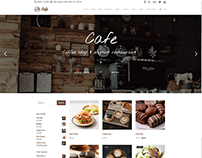 Shop - Left - Cafe WordPress Theme