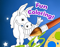 Coloring Book Game