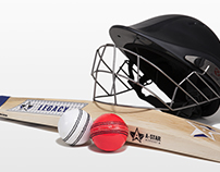 A-Star Cricket Bat Branding