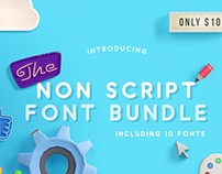 The Non Script Fonts Bundle