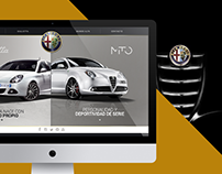 ALFA ROMEO Costa Rica Website