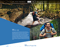 Project Me Website Design On DesignCrowd