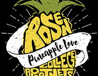 Rosen Pineapple Love T-shirt