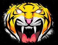 Logo Tigers Oscar Ulloa Creativo