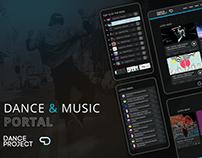 Dance and music portal