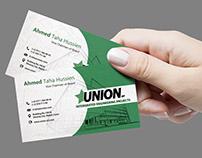 UNION-business card