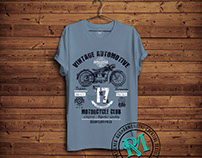 Vintage Automotive Graphic Tees