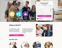 Recommend a friend landing page for Russia
