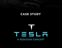 Case Study - Tesla Interface Redisign