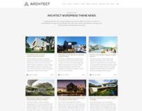 Architect WordPress Theme - Blog Posts Grid