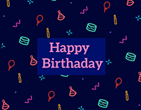 Vector icon Pattern por birthday