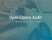 Open Claims Audit