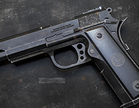 Custom Pistol 3 (3D)