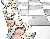 Gulliver e il Re sorpreso