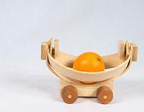 Wood Fruit Car