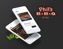 Phil's BBQ - California Restaurant | Mobile Concept