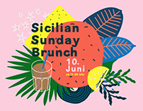Sicilian Sunday Brunch - Branding - Olrando Food