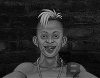 Identidade visual da página de humor BREGA BREGOSO.