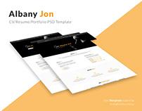 Albany Jon Portfolio Concept