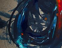 FLOW  - Paintings 2013 - 14