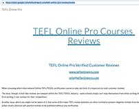 TEFL Online Pro Google sites