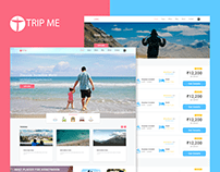 Trip Me (Travel Website)