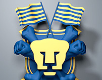 Pumas Football Team Logo