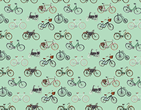 Bicycles - wallpaper