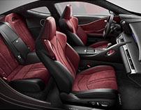 Lexus LC 500 Interiors