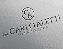 DR. CARLO ALETTI: logotipo e immagine coordinata