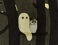 Little Ghost and Owl