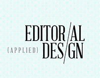 Editorial Design Video Title Sequence