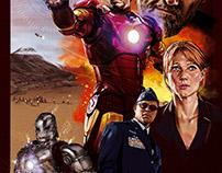 IRON MAN alternative movie / film poster.