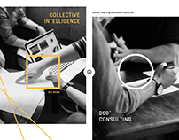[Site vitrine] Conseil IT & intelligence collective