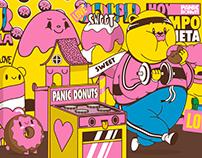 Panic Donut