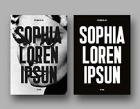 SOPHIA LOREN IPSUN — Homage posters