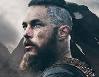 Vikings - Ragnar Lodbrok Poster FANART