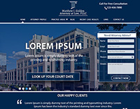 A Legal Website